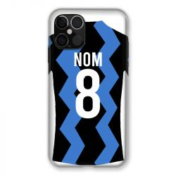 Coque Pour Iphone 12 / 12 Pro (6,1) Personnalisee Maillot Football FC Inter Milan