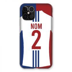 Coque Pour Iphone 12 / 12 Pro (6,1) Personnalisee Maillot Football Olympique Lyonnais Domicile