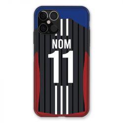 Coque Pour Iphone 12 / 12 Pro (6,1) Personnalisee Maillot Football Olympique Lyonnais Exterieur