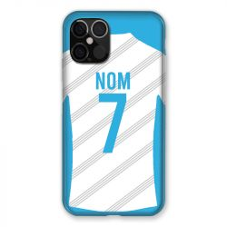 Coque Pour Iphone 12 / 12 Pro (6,1) Personnalisee Maillot Football Olympique Marseille Domicile