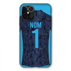 Coque Pour Iphone 12 / 12 Pro (6,1) Personnalisee Maillot Football Olympique Marseille Exterieur