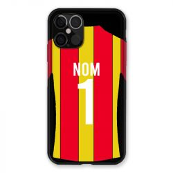 Coque Pour Iphone 12 / 12 Pro (6,1) Personnalisee Maillot Football RC Lens