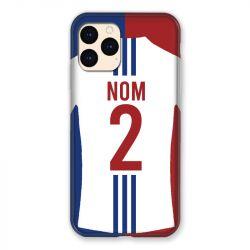 Coque Pour Iphone 12 Mini (5.4) Personnalisee Maillot Football Olympique Lyonnais Domicile
