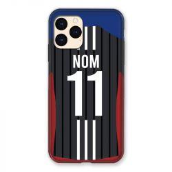 Coque Pour Iphone 12 Mini (5.4) Personnalisee Maillot Football Olympique Lyonnais Exterieur