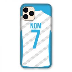 Coque Pour Iphone 12 Mini (5.4) Personnalisee Maillot Football Olympique Marseille Domicile