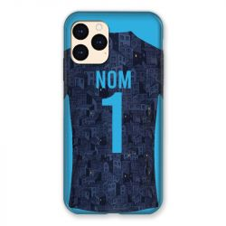 Coque Pour Iphone 12 Mini (5.4) Personnalisee Maillot Football Olympique Marseille Exterieur