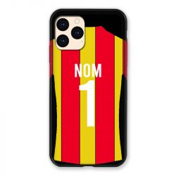 Coque Pour Iphone 12 Mini (5.4) Personnalisee Maillot Football RC Lens
