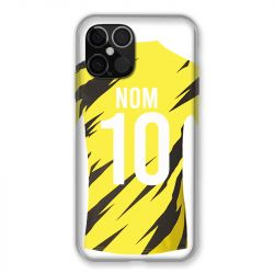 Coque Pour Iphone 12 Pro Max (6.7) Personnalisee Maillot Football Borussia Dortmund