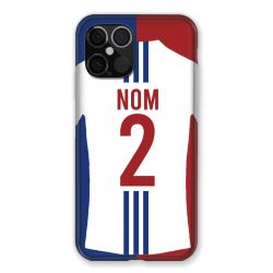 Coque Pour Iphone 12 Pro Max (6.7) Personnalisee Maillot Football Olympique Lyonnais Domicile