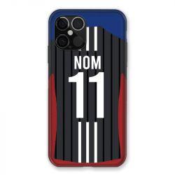 Coque Pour Iphone 12 Pro Max (6.7) Personnalisee Maillot Football Olympique Lyonnais Exterieur