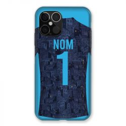 Coque Pour Iphone 12 Pro Max (6.7) Personnalisee Maillot Football Olympique Marseille Exterieur