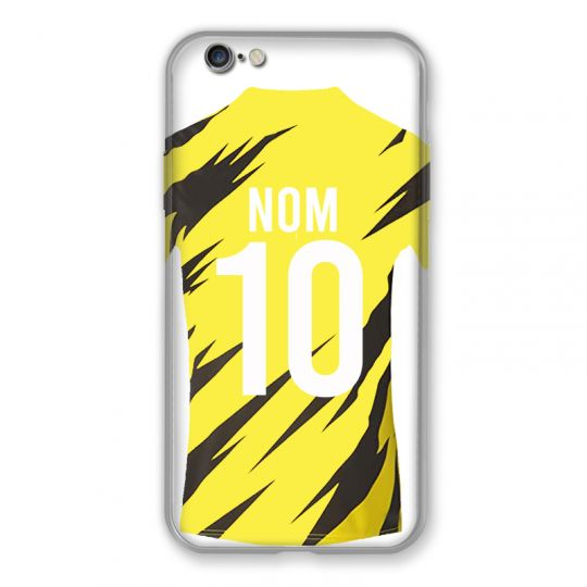 Coque Pour Iphone 6 / 6s Personnalisee Maillot Football Borussia Dortmund