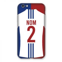 Coque Pour Iphone 6 / 6s Personnalisee Maillot Football Olympique Lyonnais Domicile