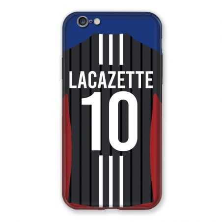 Coque Pour Iphone 6 / 6s Personnalisee Maillot Football Olympique Lyonnais Exterieur