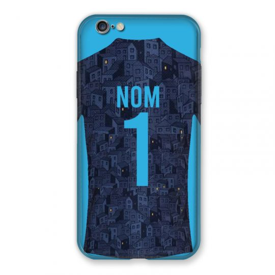 Coque Pour Iphone 6 / 6s Personnalisee Maillot Football Olympique Marseille Exterieur