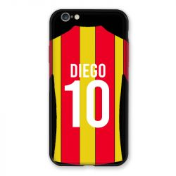 Coque Pour Iphone 6 / 6s Personnalisee Maillot Football RC Lens