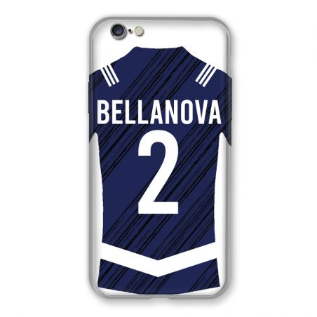 Coque Pour Iphone 7 / 8 / SE (2020) Personnalisee Maillot Footbal Girondins Bordeaux