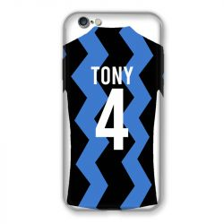 Coque Pour Iphone 7 / 8 / SE (2020) Personnalisee Maillot Football FC Inter Milan