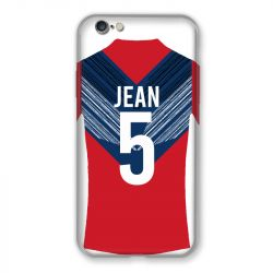 Coque Pour Iphone 7 / 8 / SE (2020) Personnalisee Maillot Football LOSC Lille