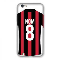 Coque Pour Iphone 7 / 8 / SE (2020) Personnalisee Maillot Football Milan AC