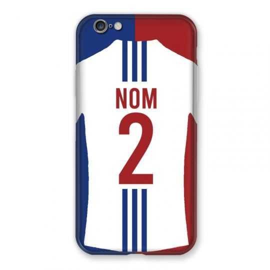 Coque Pour Iphone 7 / 8 / SE (2020) Personnalisee Maillot Football Olympique Lyonnais Domicile