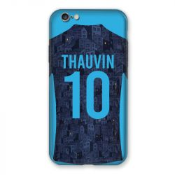 Coque Pour Iphone 7 / 8 / SE (2020) Personnalisee Maillot Football Olympique Marseille Exterieur