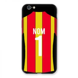 Coque Pour Iphone 7 / 8 / SE (2020) Personnalisee Maillot Football RC Lens