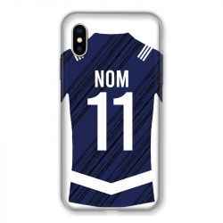Coque Pour Iphone X / XS Personnalisee Maillot Footbal Girondins Bordeaux