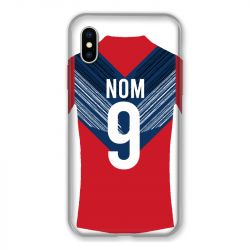 Coque Pour Iphone X / XS Personnalisee Maillot Football LOSC Lille