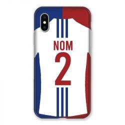 Coque Pour Iphone X / XS Personnalisee Maillot Football Olympique Lyonnais Domicile