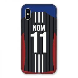 Coque Pour Iphone X / XS Personnalisee Maillot Football Olympique Lyonnais Exterieur