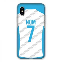 Coque Pour Iphone X / XS Personnalisee Maillot Football Olympique Marseille Domicile