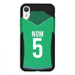 Coque Pour Iphone XR Personnalisee Maillot Football AS Saint Etienne