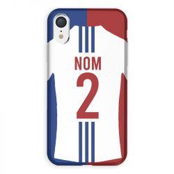 Coque Pour Iphone XR Personnalisee Maillot Football Olympique Lyonnais Domicile