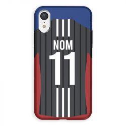 Coque Pour Iphone XR Personnalisee Maillot Football Olympique Lyonnais Exterieur