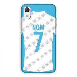 Coque Pour Iphone XR Personnalisee Maillot Football Olympique Marseille Domicile