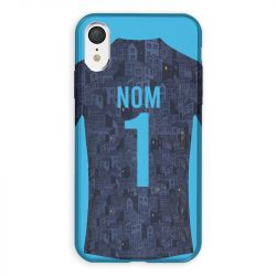 Coque Pour Iphone XR Personnalisee Maillot Football Olympique Marseille Exterieur