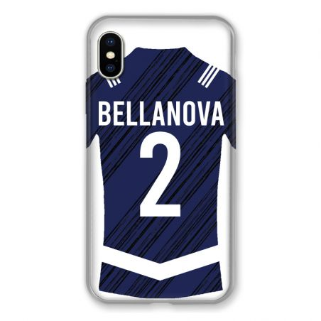 Coque Pour Iphone XS Max Personnalisee Maillot Footbal Girondins Bordeaux