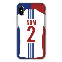 Coque Pour Iphone XS Max Personnalisee Maillot Football Olympique Lyonnais Domicile