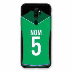 Coque Pour Oppo A9 (2020) Personnalisee Maillot Football AS Saint Etienne
