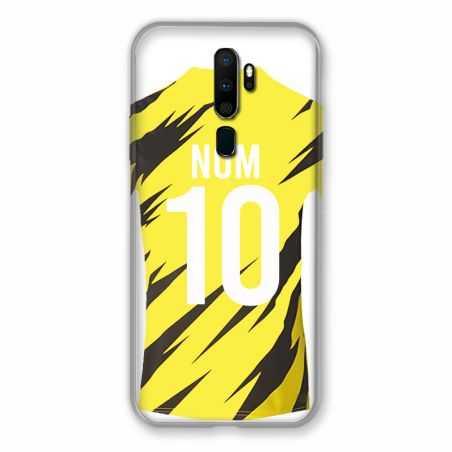Coque Pour Oppo A9 (2020) Personnalisee Maillot Football Borussia Dortmund