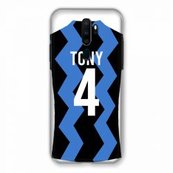 Coque Pour Oppo A9 (2020) Personnalisee Maillot Football FC Inter Milan
