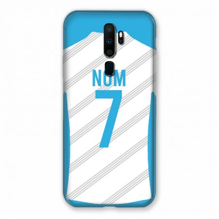 Coque Pour Oppo A9 (2020) Personnalisee Maillot Football Olympique Marseille Domicile