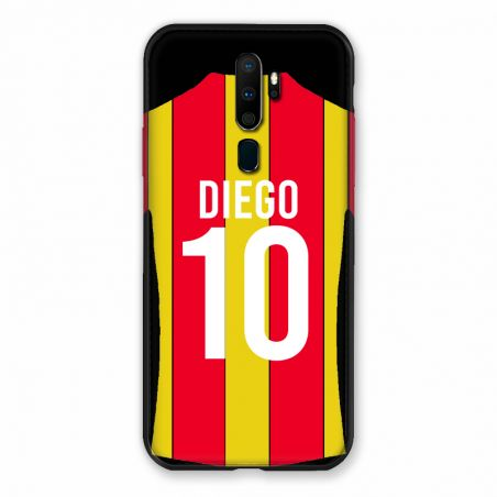 Coque Pour Oppo A9 (2020) Personnalisee Maillot Football RC Lens