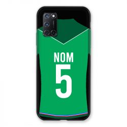 Coque Pour Oppo A72 Personnalisee Maillot Football AS Saint Etienne
