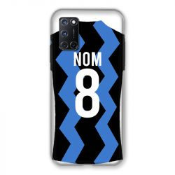 Coque Pour Oppo A72 Personnalisee Maillot Football FC Inter Milan