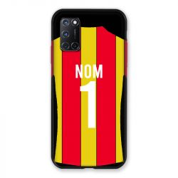 Coque Pour Oppo A72 Personnalisee Maillot Football RC Lens