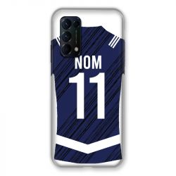 Coque Pour Oppo Find X3 Lite Personnalisee Maillot Footbal Girondins Bordeaux