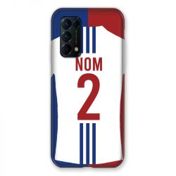 Coque Pour Oppo Find X3 Lite Personnalisee Maillot Football Olympique Lyonnais Domicile