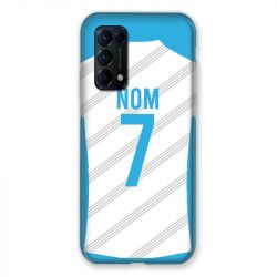 Coque Pour Oppo Find X3 Lite Personnalisee Maillot Football Olympique Marseille Domicile